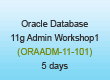 Oracle 11 Basic Administration Training