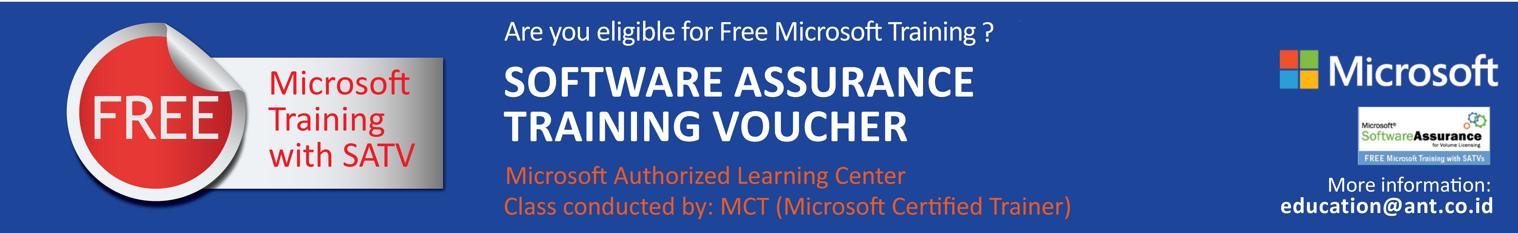 Free Trainings with Microsoft Vouchers