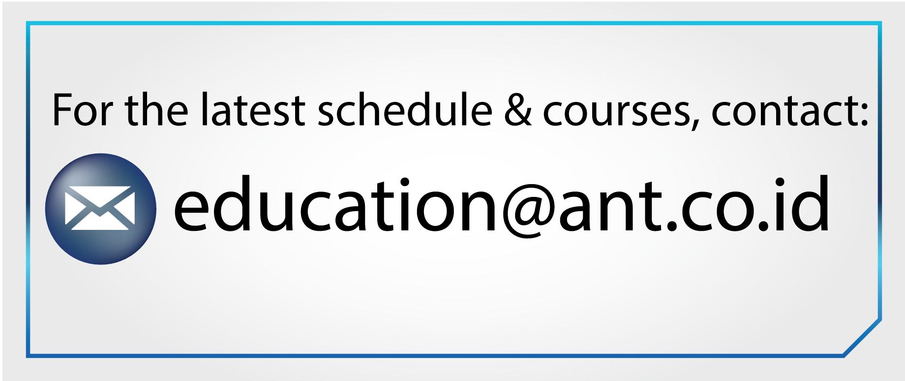 AS400 Course Track & Training Schedule | Andalan Nusantara